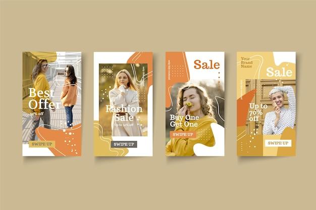 Organic sale instagram stories