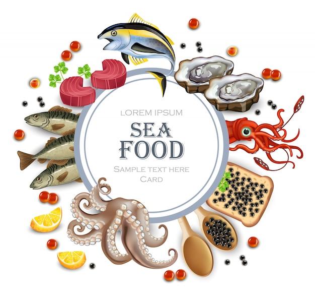 오징어와 문어가 들어간 유기농 해물 메뉴