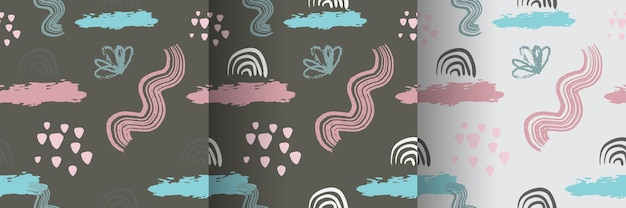 Organic seamless patterns