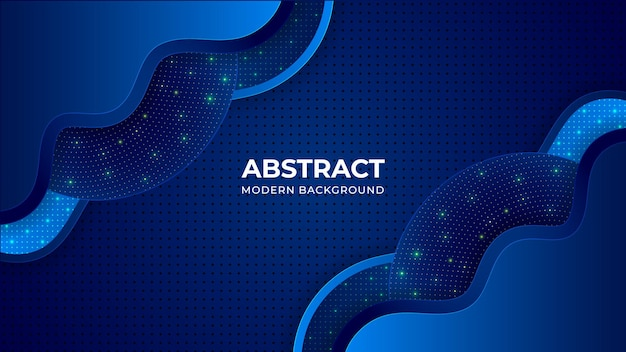 Organic shape abstract modern background template