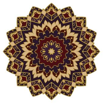 Oriental elegant ornament illustration