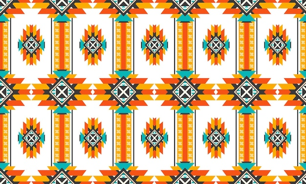 Oriental ethnic seamless pattern vector traditional background design for carpet,wallpaper,clothing,wrapping,batik,fabric,vector illustration embroidery style.