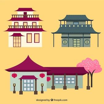 Oriental houses