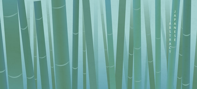 Oriental japanese style abstract pattern background elegant nature bamboo