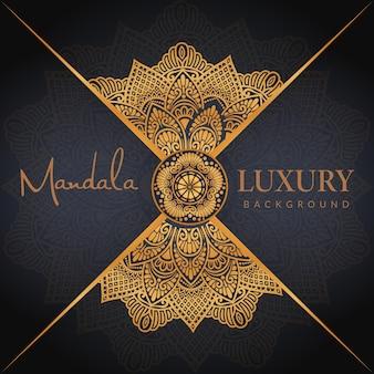 동양 만다라 배경 디자인 아랍어 이슬람 동쪽 스타일 라마단 스타일 장식