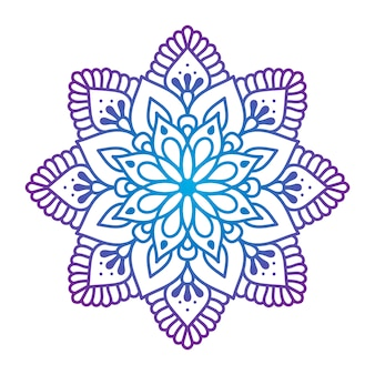 Oriental ornament mandala