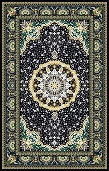 Восточный персидский турецкий ковер готов к производству
