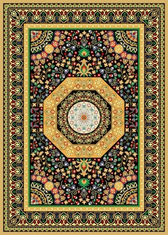 Oriental  persian turkish carpet ready for production