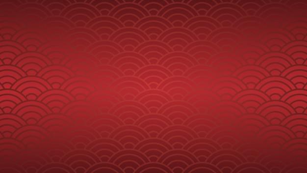 Oriental theme background vector