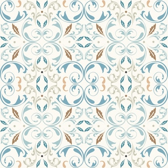 Oriental vector pattern with  arabesques elements