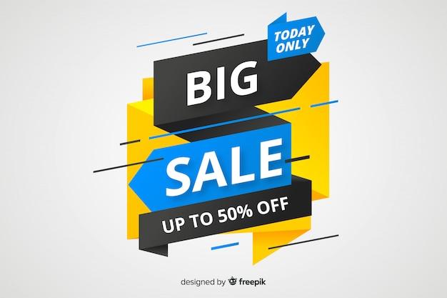 Origami big sale banner