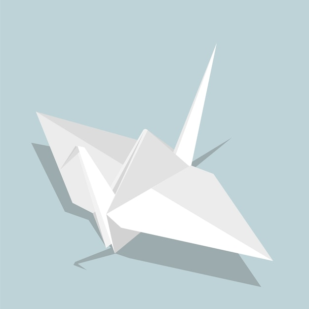 Uccello origami