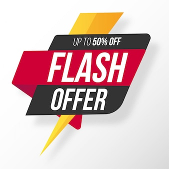 Origami flash offer
