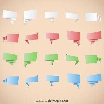 折り紙グラフィック要素