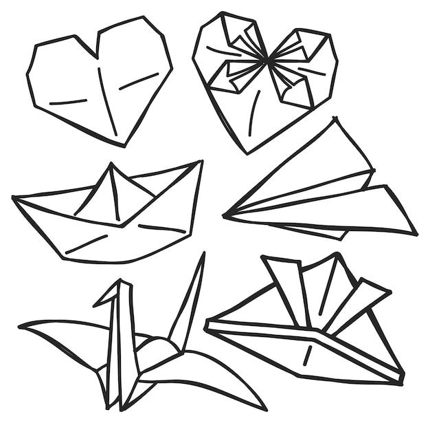 おしゃれスタイルの折り紙