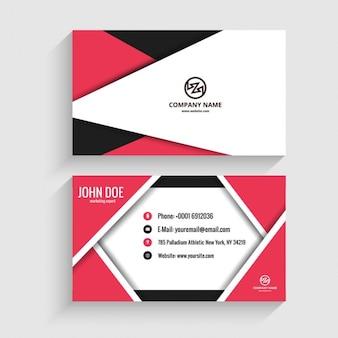 折り紙モダンなビジネスカード
