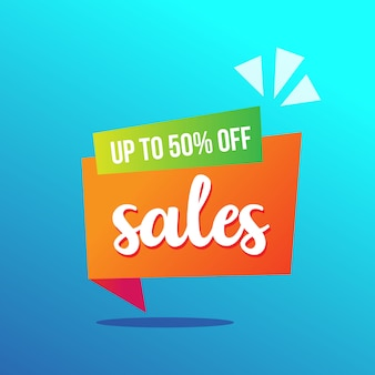 Origami sale banner