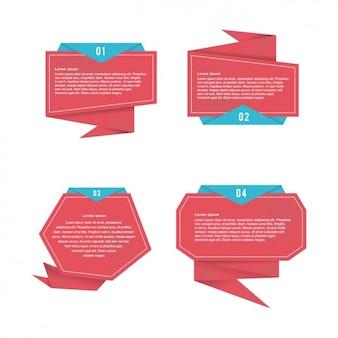 折り紙のスピーチは、コレクションを泡