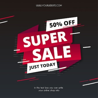 Origami super sale with abstract shapes