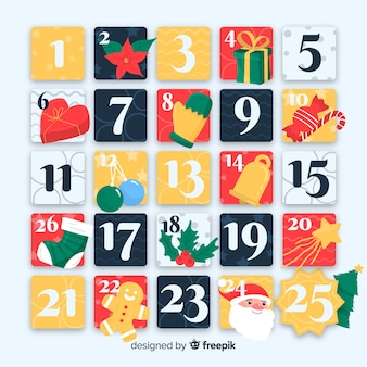 オリジナルアドベントカレンダー