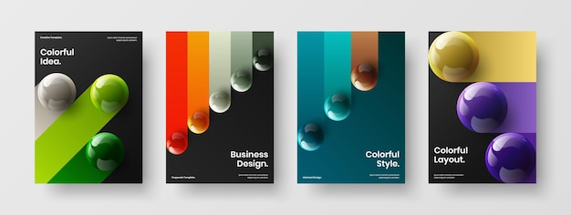 Original company cover a4 design vector illustration composition