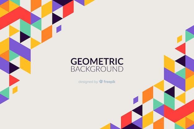 Original geometric background