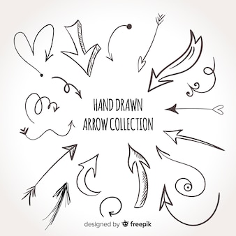 Original hand drawn arrow collection