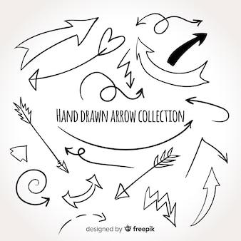 Original hand drawn arrow collection