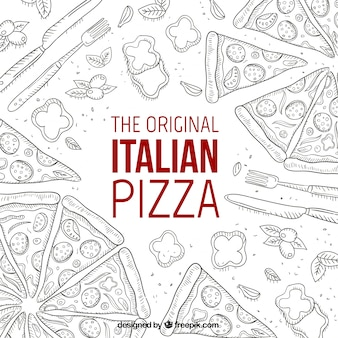 La pizza italiana originale