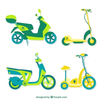 Original pack of electric scooters