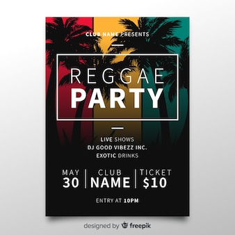 Original reggae party composition