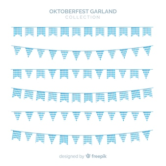 Original set of oktobefest garlands