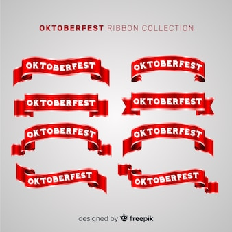 Original set of oktobefest ribbons