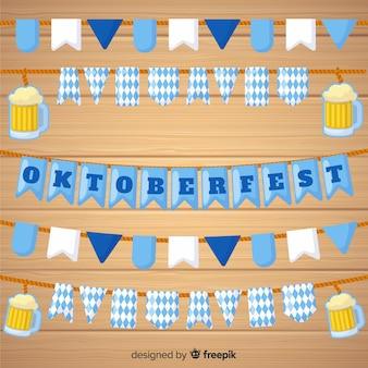 Original set of oktobefest garlands