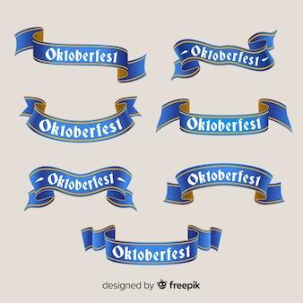 Original set of oktobefest ribbons