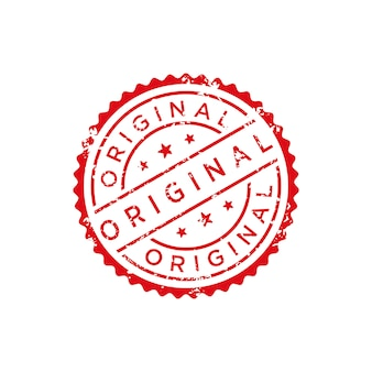 Original stamp vector