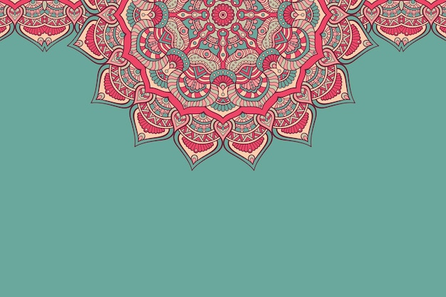 飾り美しい背景幾何学的な円要素 無料ベクター