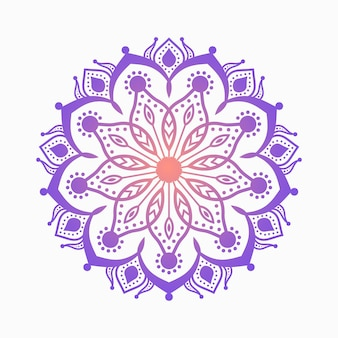 Ornament colorful beautiful mandala