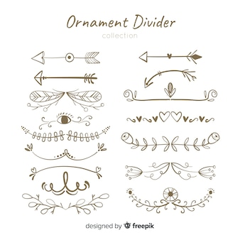 Ornament divider collection