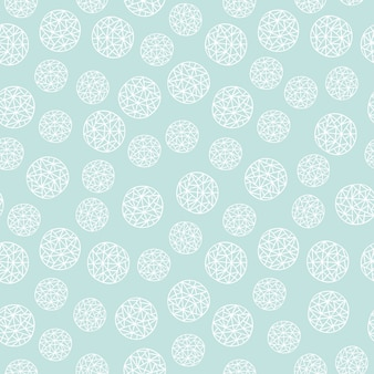 Ornament floral seamless background