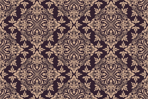 Ornament floral seamless pattern