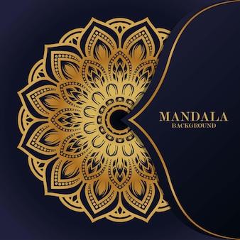 Ornament luxury mandala background