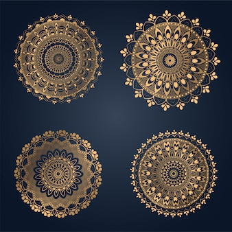 Ornament mandala background, laser cutting decoration