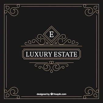 Ornamental and luxury logo