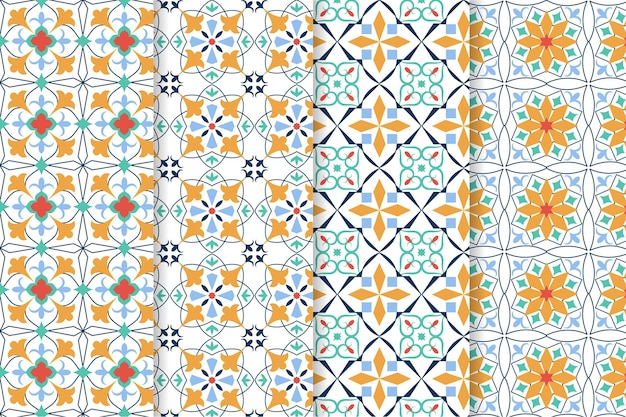 장식용 아랍어 패턴 컬렉션