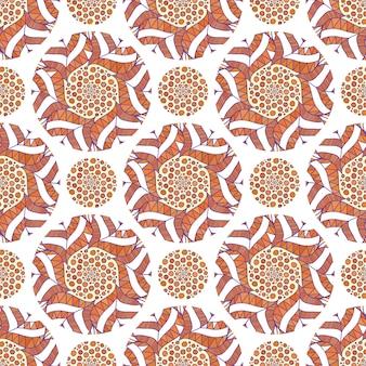 장식용 아랍어 패턴입니다. 가 배경 벡터. 포장지, 포장 디자인에 대 한 그림입니다.