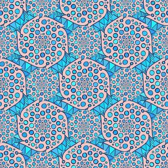 장식용 아랍어 패턴입니다. 벡터 인도 배경