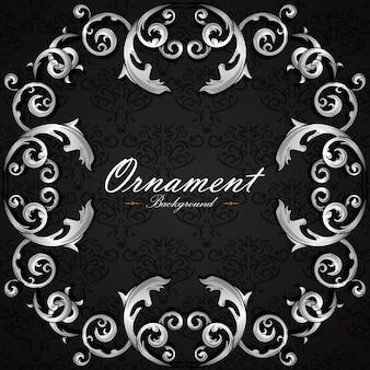 Ornamental background design