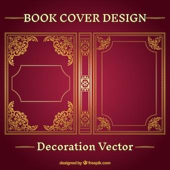 Ornamental book cover design