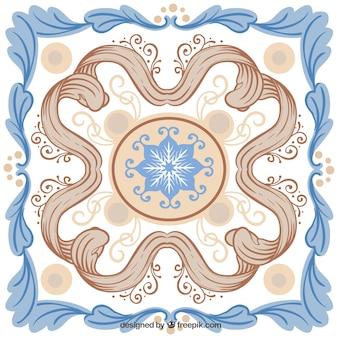 Ornamental Ceramic Tile